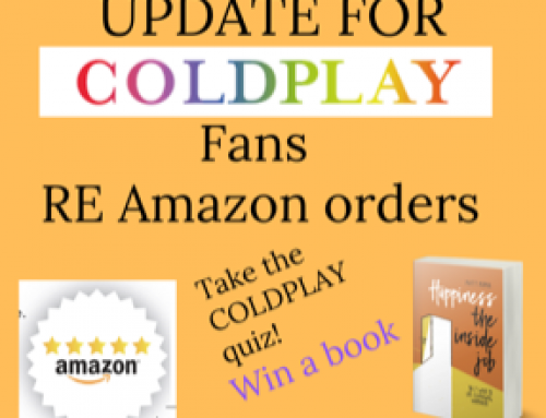 UPDATE  FOR COLDPLAY FANS Re AMAZON ORDERS