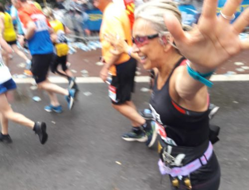 "Susies incredible healing story – ""From pain to gain"" of the London Marathon Medal!"