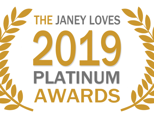 I've entered the 2019 Janey Loves PLATINUM Awards