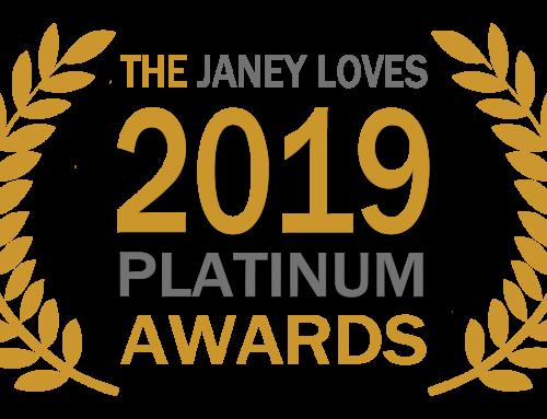 I've entered the 2019 Janey Loves PLATINUM Awards